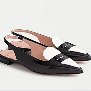 NWT!! J.Crew Gwen slingback loafer flats